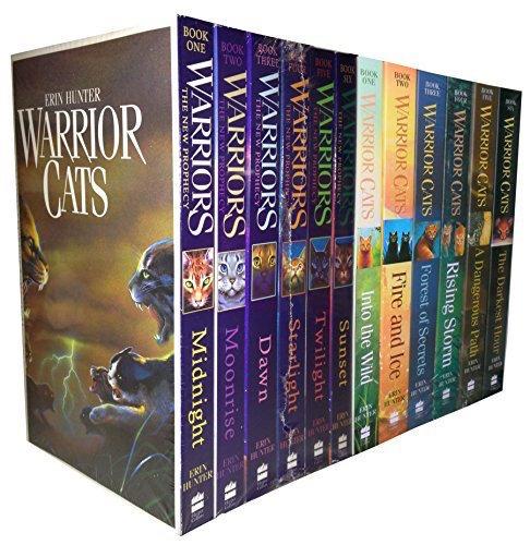 Elige Un Libro En Qué Orden Leer La Saga Los Gatos Guerreros
