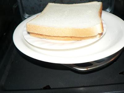 食パン加熱