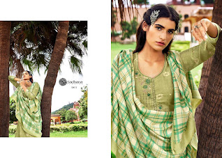 Sadhna Fashion Burberry Vol 33 Winter Pashmina Collection