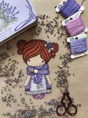 лаванда, прованс, куколка прованс, куколка лаванда, волшебные куколки,magic dolls cross stitch, magic dolls вышивка
