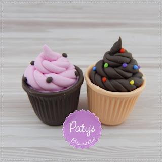 Copinhos de chocolate cenográficos - Fake Food - Paty's Biscuit