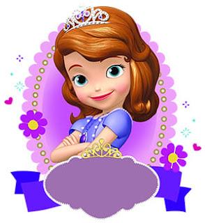 Princesa sofia para poner su nombre