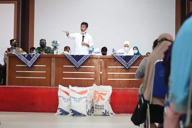 Penyaluran Beras PPKM di Batam Sudah Mencapai 93 %