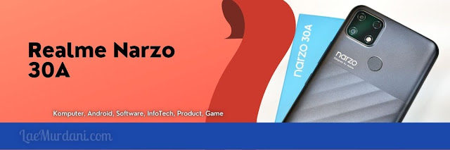 HP Terbaru Realme Narzo 30A dan Harga