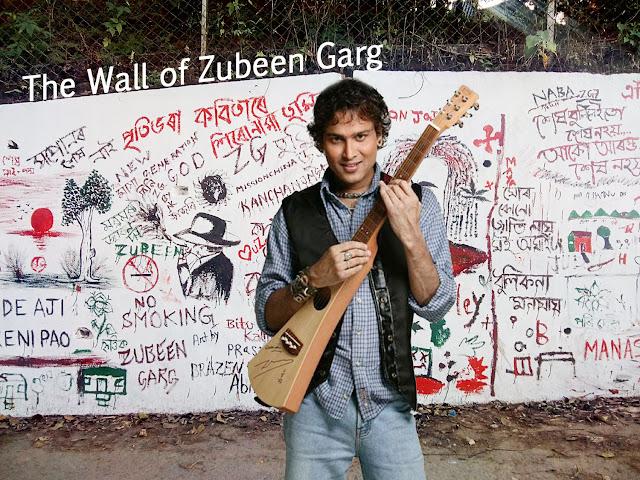 The Wall of Zubeen Garg