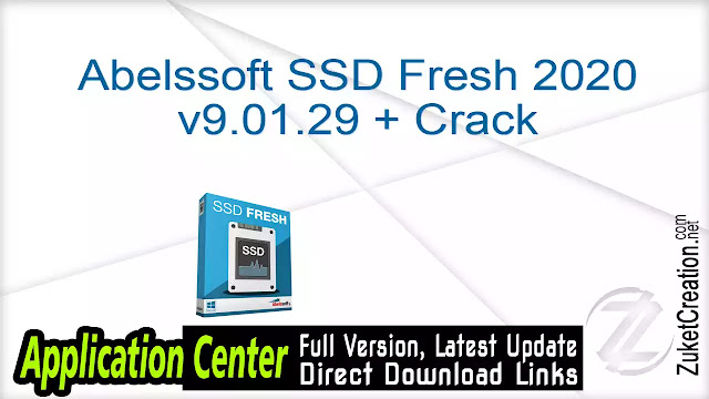 Abelssoft SSD Fresh 2018.7.42 Build 147 + Crack