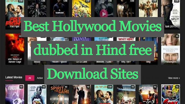Best Hollywood hindi dubbed  movies download sites full hd