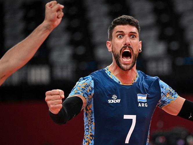 Voley: Argentina clasificó a los cuartos de final en los Juegos Olímpicos de Tokio 2020