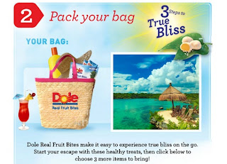 dole facebook contest