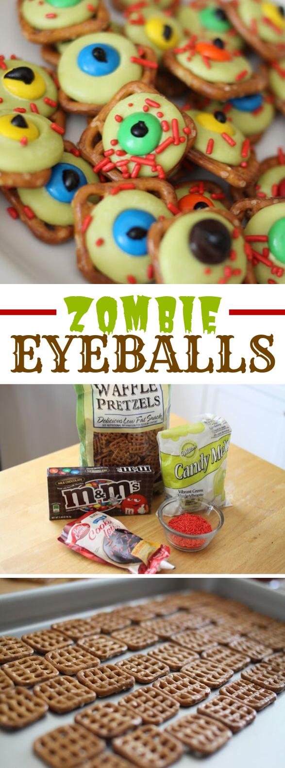 Zombie Eyeballs #desserts #halloween
