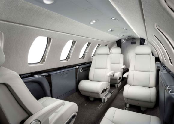 Cessna Citation CJ3+ interior