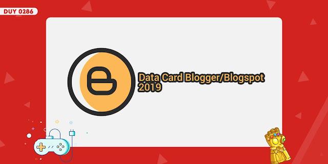 Danh sách tổng hợp các loại thẻ dữ liệu mặc định cơ bản hay dùng tới của Blogger
