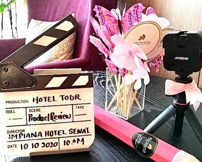 Hotel Tour & Product Review JDT Blogger Di Impiana Hotel Senai Bertemakan Pinktober