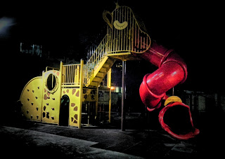 park with a slide