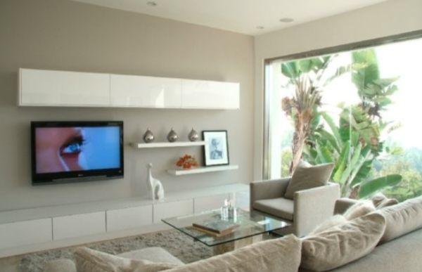 Blog dla ludzi z wn trzem ciana telewizyjna - Hanging tv on wall ideas ...