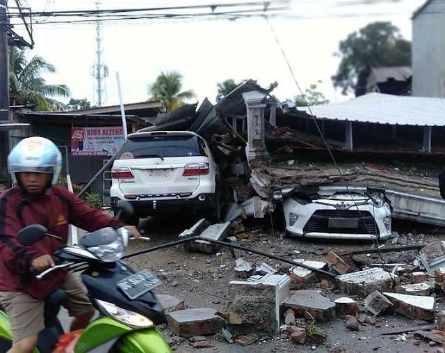Indonesia Berduka, Gempa Dahsyat Hantam Kabupaten Majene, Ini Data Korban Sementara