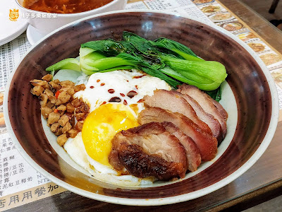 香港茶水攤-延吉店,蜜汁叉燒煎蛋飯
