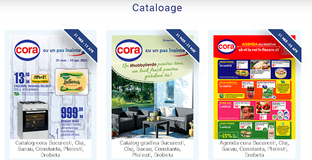 CORA  Cataloage - Brosuri 1-30.04 2021 → HiperOferte