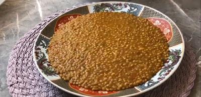 تحضير العدس بالطريقة المغربية لذيذ