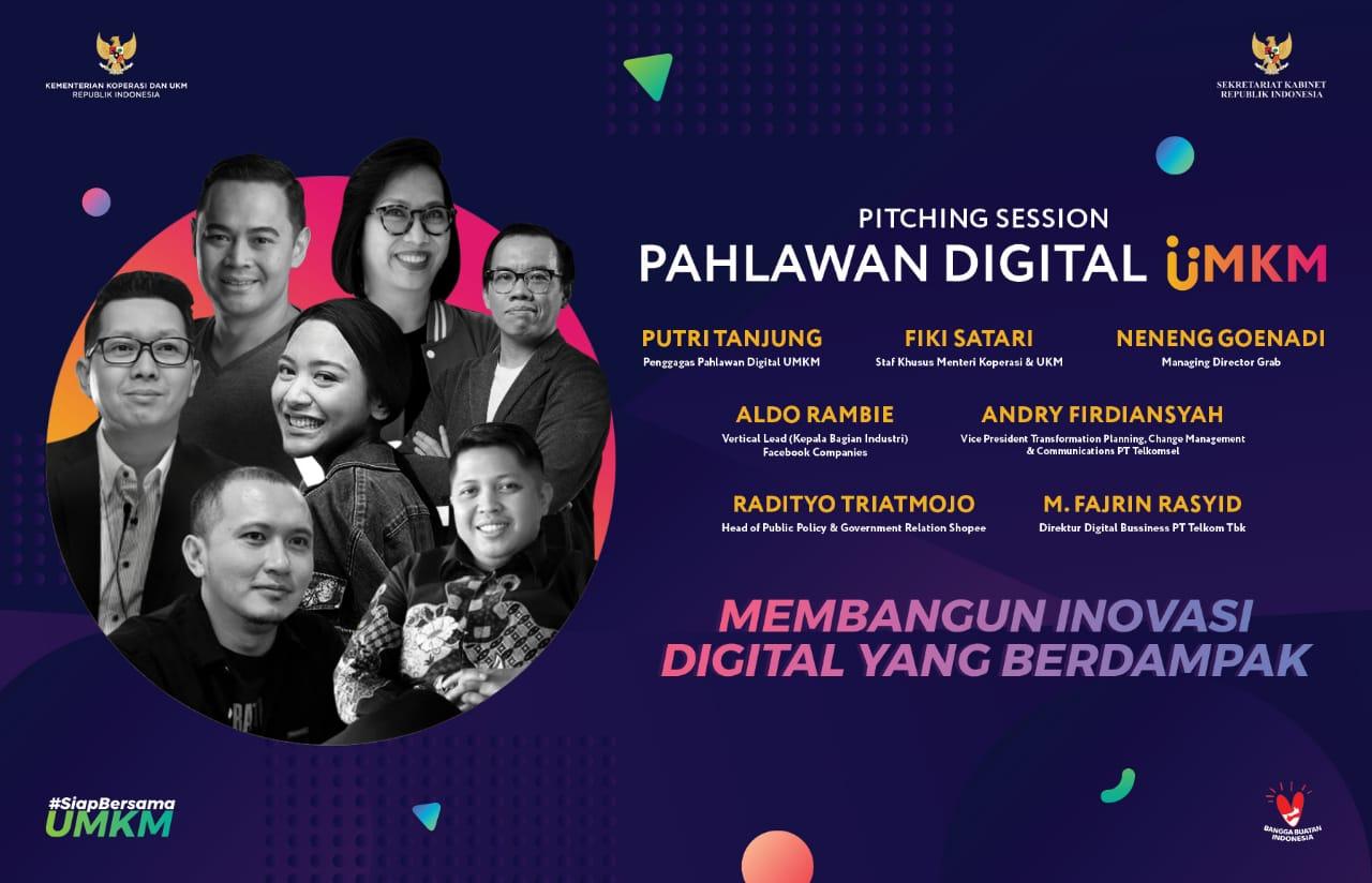 Program Pahlawan Digital UMKM: Inovator Menjadi Konektor Antara UMKM Dengan Dunia Digital