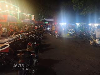 Parkir di Area Kuliner PTB Maros Semrawut, Sorot Indonesia Angkat Bicara