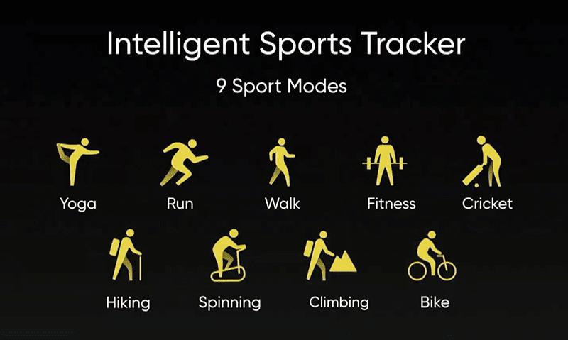 9 sports mode