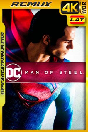 El hombre de acero (2013) 4k BDRemux HDR Latino – Ingles