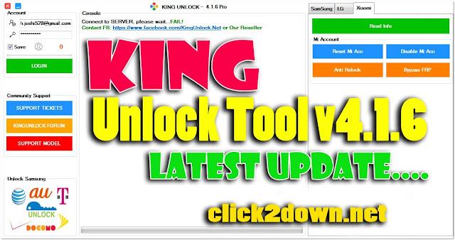 Download King Unlock Tool v4.1.6 Latest Full  Working Version [Free]