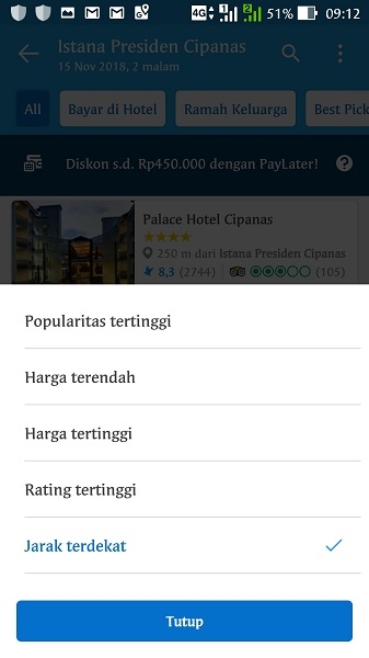 Traveloka Mobile App