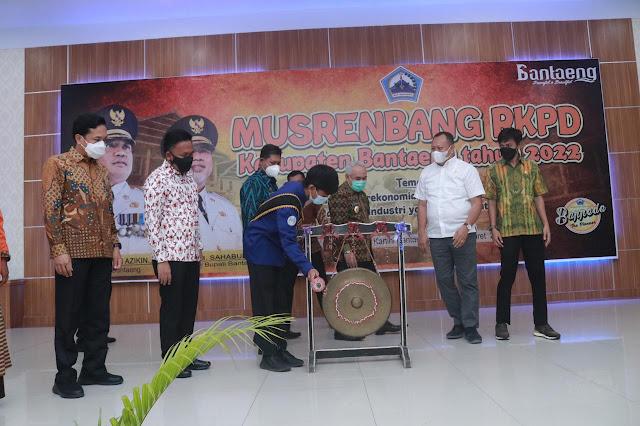 Bantaeng Wakili Sulsel Jadi Nominator Pembangunan Nasional