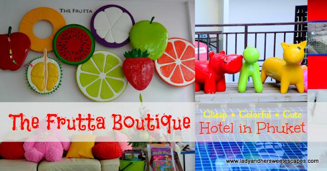 The Frutta Boutique Hotel Phuket