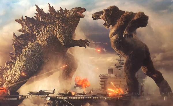 'Godzilla vs. Kong' tem estreia antecipada nos Cinemas e HBO Max