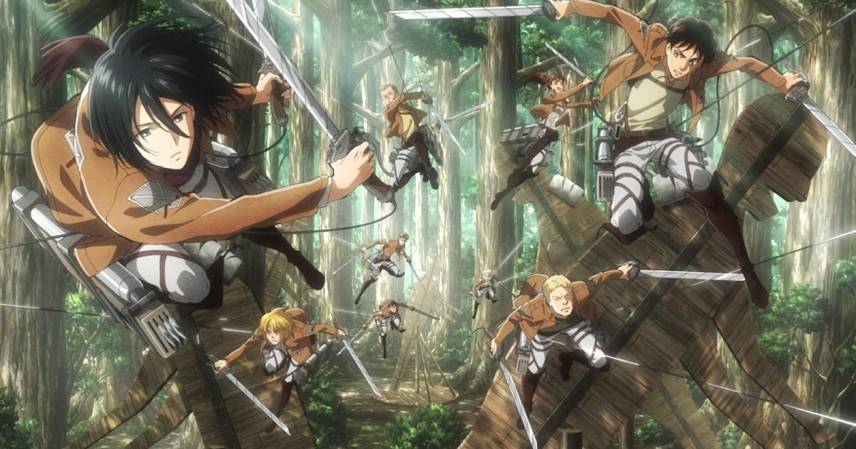 Attack on Titan season 2 Dual audio English dub + Japanese ...