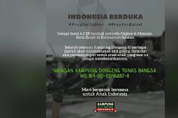 Kampung Dongeng Peduli Gempa Sulbar dan Banjir Kalsel