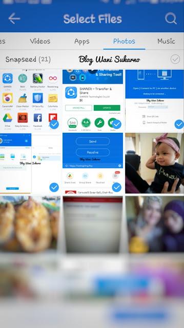 Cara guna shareit untuk android