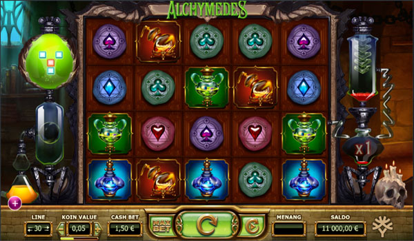 Main Gratis Slot Indonesia - Alchymedes Yggdrasil