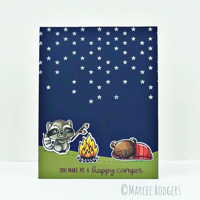 Sunny Studio Stamps: Critter Campout Customer Card Share by Marcee Rodgers