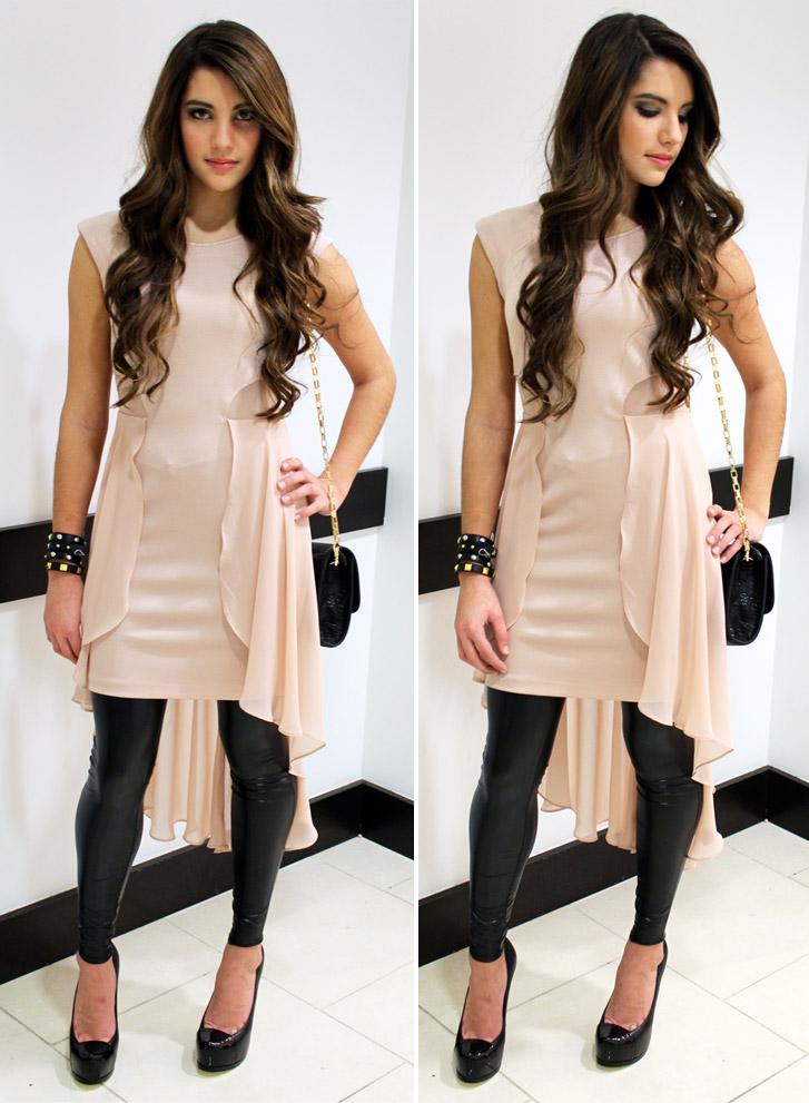 leggings with dresses - photo #14