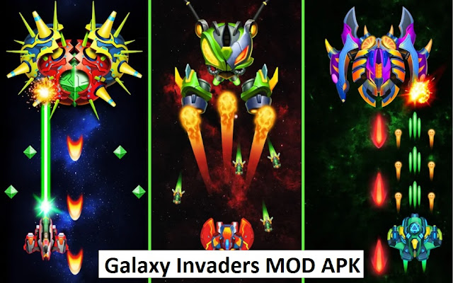 Galaxy Invaders - Alien Shooter MOD APK
