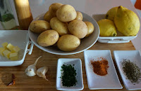 PATATAS 🥔 al ajo y limón 🌶️ con toque MEXICANO