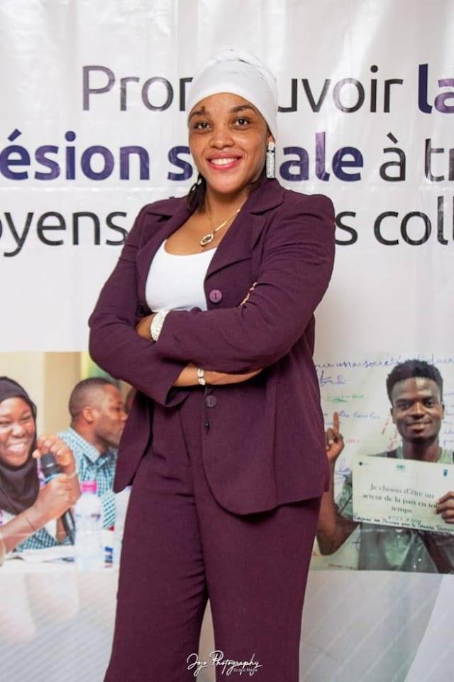 Hayathe AYEVA : « Les femmes sont aussi douées pour assumer les postes de responsabilités si on leur faisait davantage de confiance »