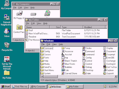 Windows 95 Screen