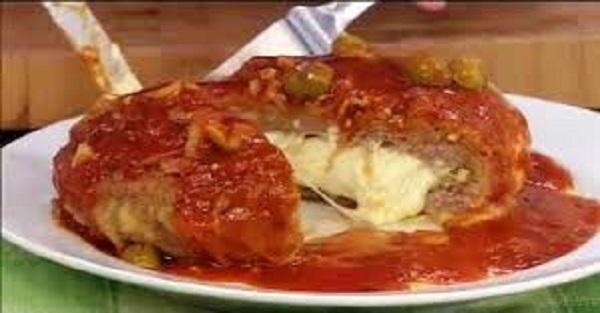 Polpetone à Moda Pizzaiolo (Imagem: Reprodução/Internet)
