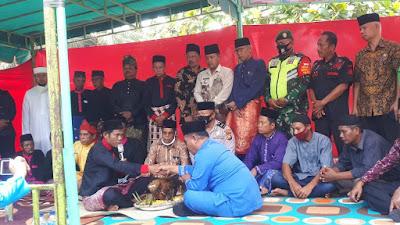 ORMAS BIDIK Menghadiri acara bertimbang salah terhadap suku sakai