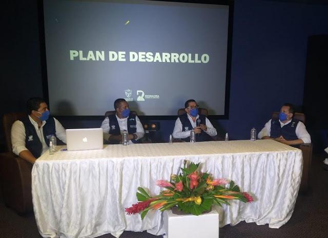 Alcalde Bermúdez Cotes socializó Plan Plurianual de Inversiones para Riohacha