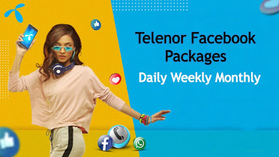 Telenor Facebook packages Daily,Weekly and Monthly 2020