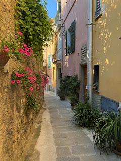 A narrow street in Porto Venere