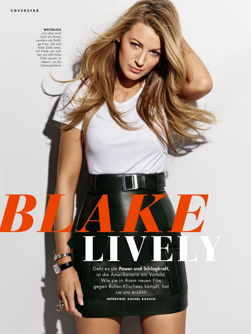 Blake Lively Featured in Cosmopolitan Magazine, Germany July 2020