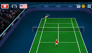 Jogo grátis Tennis Hero online jogo de tênis