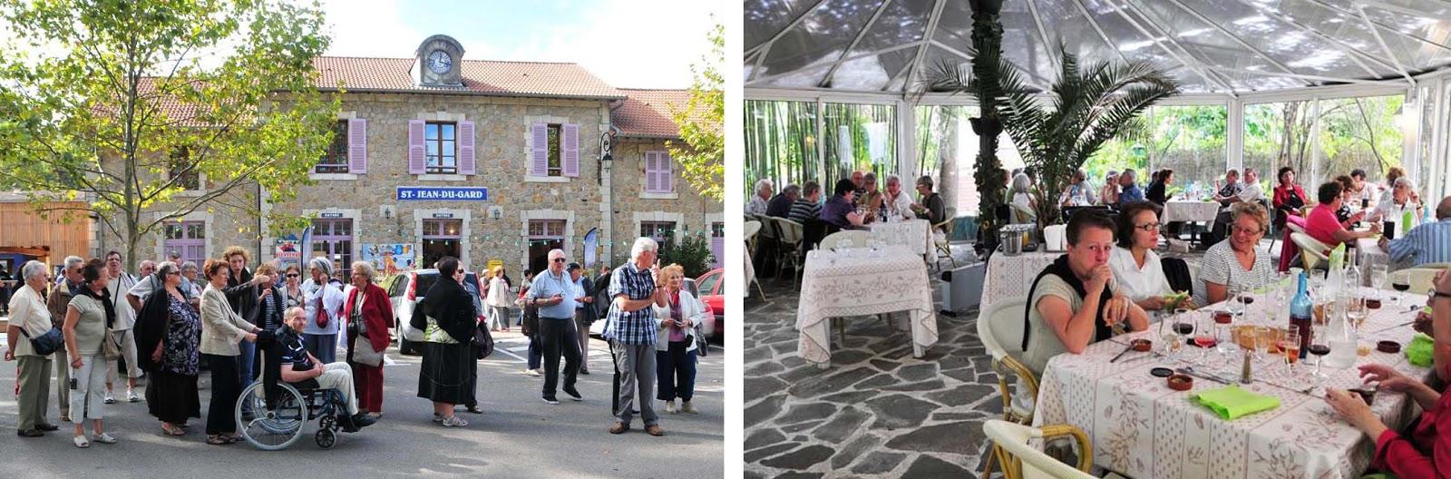 Les Bellugues St Jean Du Gard Restaurant